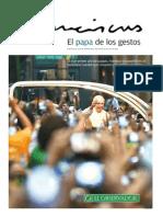 El Papa de los gestos
