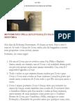 MOVIMENTO PELA REGENERAÇÃO DA IGREJA NA HISTÓRIA