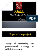 swot analysis of amul ice cream