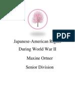 Maxine Ortner's Process Paper
