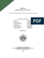 Tugas Rekayasa Akuakultur - COVER PROPOSAL