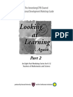 01- Introduction to Looking at Learning ... Again, Part 2