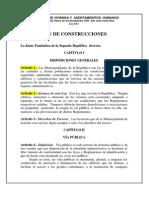 Ley de Construcciones