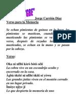 Jorge Carrión Díaz