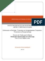 Epistemologia Psicologia - Programa Alumnos