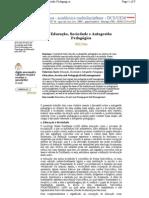 Educação, Sociedade e Autogestão Pedagógica - Nildo Viana