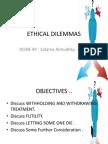 Ethical Dilmmas Salmaa