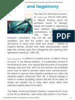 Gramsci and Hegemony | U...DS at Sussex University