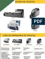 Tabla informativa Impresoras Zebra