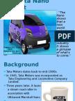 The Tata Nano Project