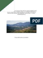 Fragmentacion de Cobertura en Paramo Guerero
