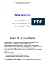 Ratio Analysis, FM