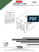 Lincold Electric CV 305 Manual