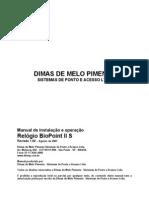 Manual BioPoint II - S