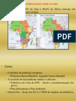 Descolonização da Africa e da Asia - China