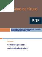 Presentacion Sem Titulo I (e) 2013