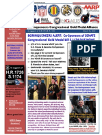 Borinqueneers Congressional Gold Medal Alliance 3-31-2014 Update