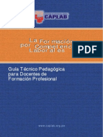 La Formacion Por Competencias Laborales