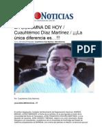 30-03-2014  Metro Noticias - La única diferencia es…!!!.