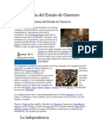 Historia Del Estado de Guerrero