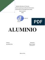Trabajo Final de Recursos de Minerales de Aluminio Expo...