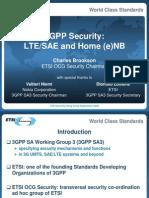 2009 09 LTE Summit Security