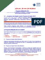Difusión Cursos de Inglés 2013