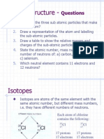 Atomic Structure CHEMISTRY A LEVEL