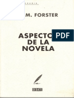 Aspectos de La Novela E M Forster