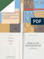 Matematicas - Lexico de Matematicas