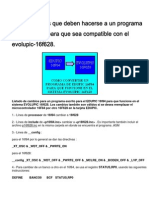 Para Cambiar Un Programa 16f84 a Otro 16f628