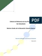 INEVAL - Cédula de referencia de las Pruebas SER Estudiante 10mo. EGB.pdf
