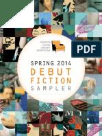 Spring 2014 Debut Fiction Sampler