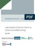 Heidrick & Struggles - Estudo Portugal Sustentabilidade 2008