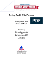 10am-Driving Profit With Purpose