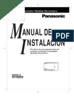 Panasonic KX-T206AG Manual de Instalacion