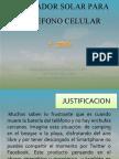 Cargador Solar Para Telefono Celular