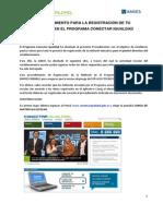 Procedimiento Registracion Netbook Escuela