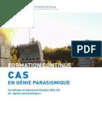 CAS Parasismique