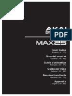 Max25 User Guide