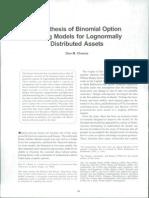 Binomial Option Chance