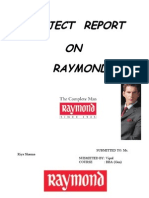 Project on Raymond