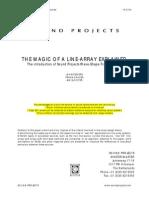 Line Array Theory
