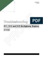 C15 Troubleshooting