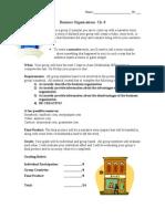business organizations project13-14