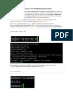 Como Saber La Ip Publica de Mi Servidor Ubuntu