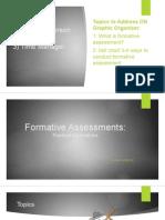 formative assessments seminar