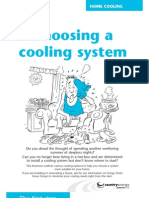 Choosing a Cooling System