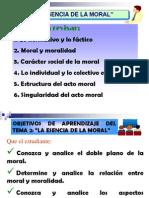 Unidad II Tema 2 La Esencia de La Moral