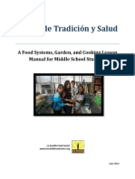 Middle School Manual for Garden, Cooking and Food Systems